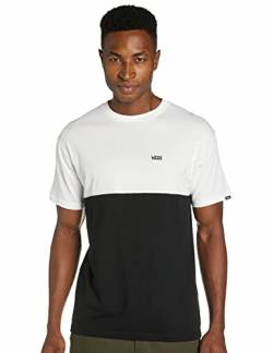 Vans Herren Colorblock Tee T-Shirt, Mehrfarbig (Black-White Y28), Medium von Vans