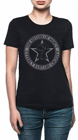 The Sisters of Mercy - The Worlds End - Utterly Bastard Groovy Damen T-Shirt Schwarz von Vendax