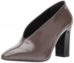 Via Spiga Women's Baran Block Heel Pump, Bark Leather, 5 M US von Via Spiga