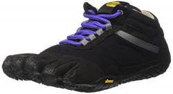 Vibram FiveFingers 15W5303 TREK Ascent Insulated, Outdoor Fitnessschuhe Damen, Mehrfarbig (Black/purple), 36 EU von Vibram Five Fingers