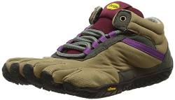 Vibram FiveFingers 15W5304 TREK Ascent Insulated, Outdoor Fitnessschuhe Damen, Mehrfarbig (Khaki/grape), 37 EU von Vibram Five Fingers