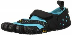 Vibram FiveFingers Damen V Aqua Schuhe, Blau (Black/Light Blue Black/Light Blue), 37 EU von Vibram Five Fingers