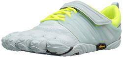 Vibram FiveFingers V-Train-W V-TRAIN, Hallenschuhe Damen, Weiß (Pale Blue/Safety Yellow), 37 EU von Vibram Five Fingers