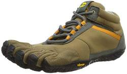Vibram FiveFingers 15M5301 TREK Ascent Insulated, Outdoor Fitnessschuhe Herren, Mehrfarbig (Khaki/Orange), 43 EU von Vibram Five Fingers