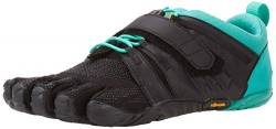 Vibram Damen V-Train 2.0 Sneaker, Black/Green, 42 EU von Vibram