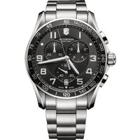 Victorinox Swiss Army Chrono Classic Chrono Classic Herrenchronograph in Silber 241650 von Victorinox Swiss Army