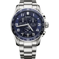 Victorinox Swiss Army Chrono Classic Chrono Classic Herrenchronograph in Silber 241652 von Victorinox Swiss Army