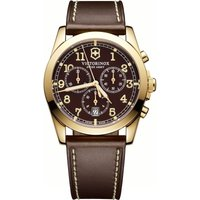 Victorinox Swiss Army Infantry Infantry Herrenchronograph in Braun 241647 von Victorinox Swiss Army