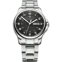 Victorinox Swiss Army Officers Officers Herrenuhr in Silber 241590.1 von Victorinox Swiss Army