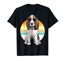 English Springer Spaniel T-Shirt Geschenk Idee von Vintage English Springer Spaniels Retro T-Shirts
