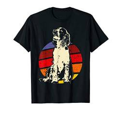Vintage English Springer Spaniel Designer T-Shirt von Vintage English Springer Spaniels Retro T-Shirts