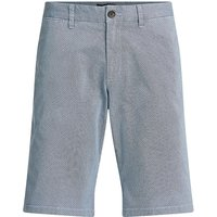 WE Fashion Herren-Slim-Fit-Chinoshorts mit Stretchanteil Shorts blau Herren Gr. 32 von WE Fashion