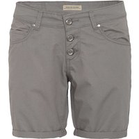 Way of Glory WAY OF GLORY  Basic Bermuda-Shorts Shorts grau Damen Gr. 42 von Way of Glory