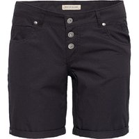 Way of Glory WAY OF GLORY  Basic Bermuda-Shorts Shorts schwarz Damen Gr. 36 von Way of Glory