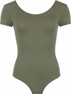 WearAll - Damen elastischer Body Top - Khaki - 40-42 von WearAll