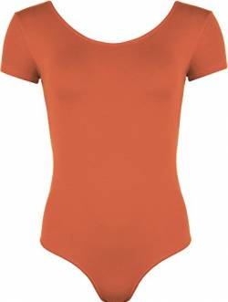 WearAll - Damen elastischer Body Top - Rost - 36-38 von WearAll