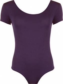 WearAll - Damen elastischer Body Top - Violett - 40-42 von WearAll
