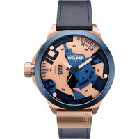 Welder The Bold K52 Herrenuhr in Blau WRK5200 von Welder