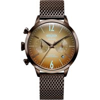 Welder The Moody 38mm Dual Time Unisexuhr in Braun K55/WWRC606 von Welder