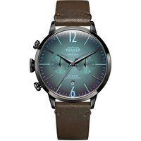 Welder The Moody 42mm Dual Time Unisexuhr in Braun K55/WWRC207 von Welder