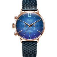 Welder The Moody 45mm Dual Time Unisexuhr in Blau K55/WWRC418 von Welder