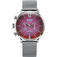 Welder The Moody 45mm Dual Time Unisexuhr in Silber K55/WWRC404 von Welder