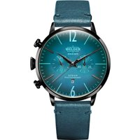 Welder The Moody 45mm Unisexchronograph in Blau K55/WRC308 von Welder