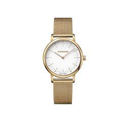 Wenger Damen Urban Classic Lady - Swiss Made Analog Quarz Edelstahluhr 01.1721.113 von WENGER