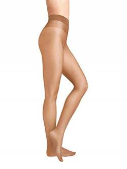 Wolford Damen Strumpfhosen Satin Touch 20 Comfort Tights, 20 DEN,honey,Small (S) von Wolford
