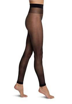 Wolford Damen Satin Touch 20 Leggings, Stoffhose Basic Freizeithose enganliegend,7005 Black,Large (L) von Wolford