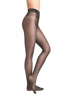 Wolford Damen Strumpfhosen Satin Touch 20 Comfort Tights, 20 DEN,anthracite,Small (S) von Wolford