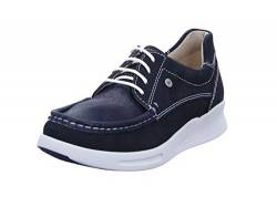 Wolky Comfort Sneakers One - 10870 blau-sommerliches Stretch Nubuk - 38 von Wolky