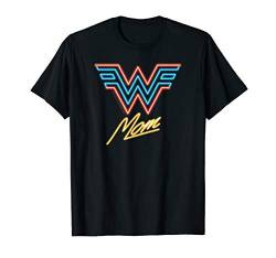 Wonder Woman 1984 Wonder Mom Neon T-Shirt von Wonder Woman