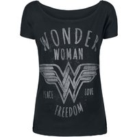 Wonder Woman Freedom  T-Shirt  schwarz von Wonder Woman