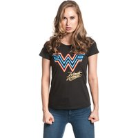 Wonderwoman Retro Damen T-Shirt von Wonderwoman
