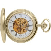 Woodford Full Hunter Skeleton Unisexuhr in Gold WF1081 von Woodford