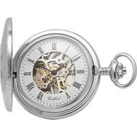 Woodford Full Hunter Skeleton Unisexuhr in Silber WF1082 von Woodford