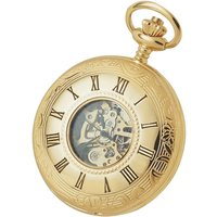 Woodford Half Hunter Skeleton Unisexuhr in Gold WF1077 von Woodford