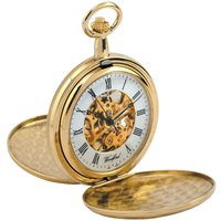 Woodford Pocket Skeleton Unisexuhr in Gold WF1038 von Woodford