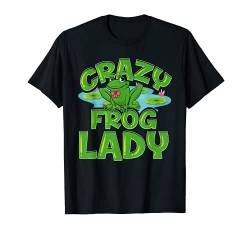 Crazy Frog Lady Lover Gift For Women Girls T-Shirt von Wowsome!