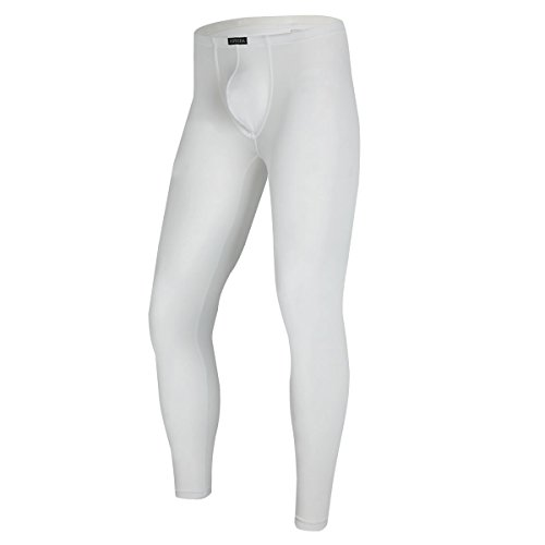 YFD Herren Lange Unterhosen mit Weichbund transparent Hose Unterw/äsche Strumpfhose Leggings