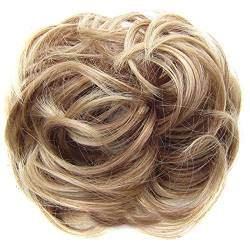ZHOUBAA Messy Hair Bun Extensions Curly Wavy Messy Synthetisches Chignon Haarteil Scrunchie Scrunchy Hochsteckfrisur Haarteil Für Frauen 12 von ZHOUBAA