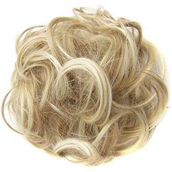 ZHOUBAA Messy Hair Bun Extensions Curly Wavy Messy Synthetisches Chignon Haarteil Scrunchie Scrunchy Hochsteckfrisur Haarteil Für Frauen 13 von ZHOUBAA