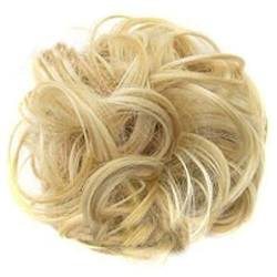 ZHOUBAA Messy Hair Bun Extensions Curly Wavy Messy Synthetisches Chignon Haarteil Scrunchie Scrunchy Hochsteckfrisur Haarteil Für Frauen 15 von ZHOUBAA