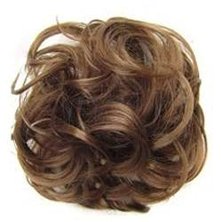 ZHOUBAA Messy Hair Bun Extensions Curly Wavy Messy Synthetisches Chignon Haarteil Scrunchie Scrunchy Hochsteckfrisur Haarteil Für Frauen 8 von ZHOUBAA