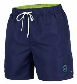 Zagano Adam Lipski Herren Badeshort, 5106, Long Version Navy Blue, Gr. 3XL von Zagano Adam Lipski