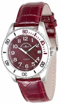 Zeno-Watch Damenuhr - Diver Ceramic Medium Size - Purple - 6642-515Q-s10 von Zeno