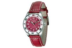 Zeno-Watch Damenuhr - Diver Ceramic Medium Size - red - 6642-515Q-s7 von Zeno
