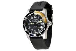 Zeno-Watch Herrenuhr - Airplane Diver Quartz Numbers - 6349-515Q-12-a1-9 von Zeno