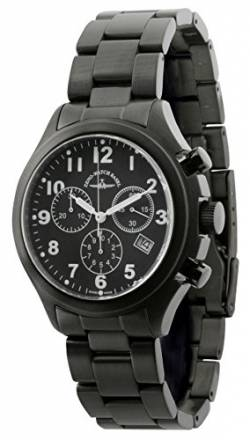 Zeno-Watch Herrenuhr - Aviator Chronograph Black - 926Q-bk-a1M von Zeno Watch Basel